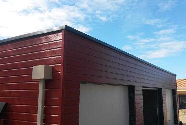couvertine toit gris