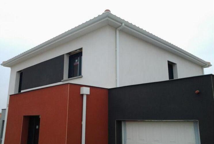 Gouttière-maison