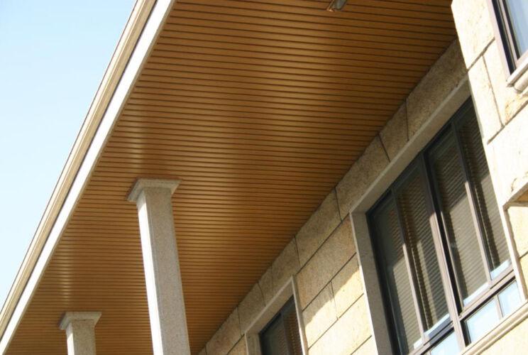 Faux plafond extérieur